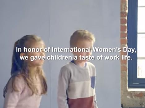 Desigualdades de género vistas pelas crianças